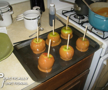 Caramel Apples!