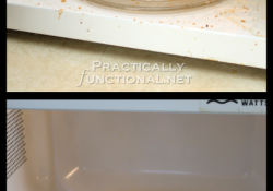 How to steam clean a microwave in just 5 minutes!