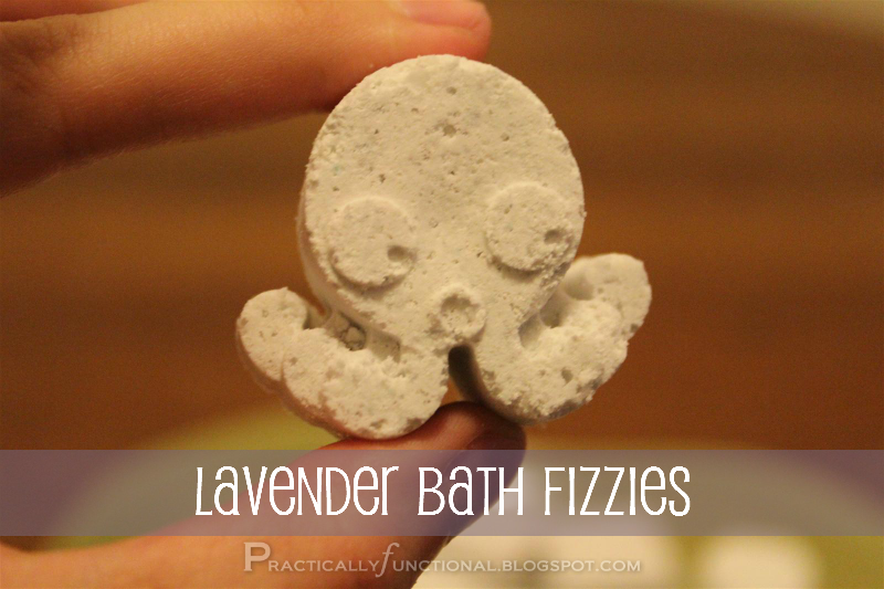 DIY Bath Fizzies