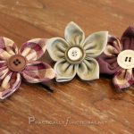 Practically Functional: Fabric flower tutorial