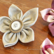Practically Functional: Fabric Flowers