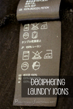 Laundry Icons And Their Meanings Printable