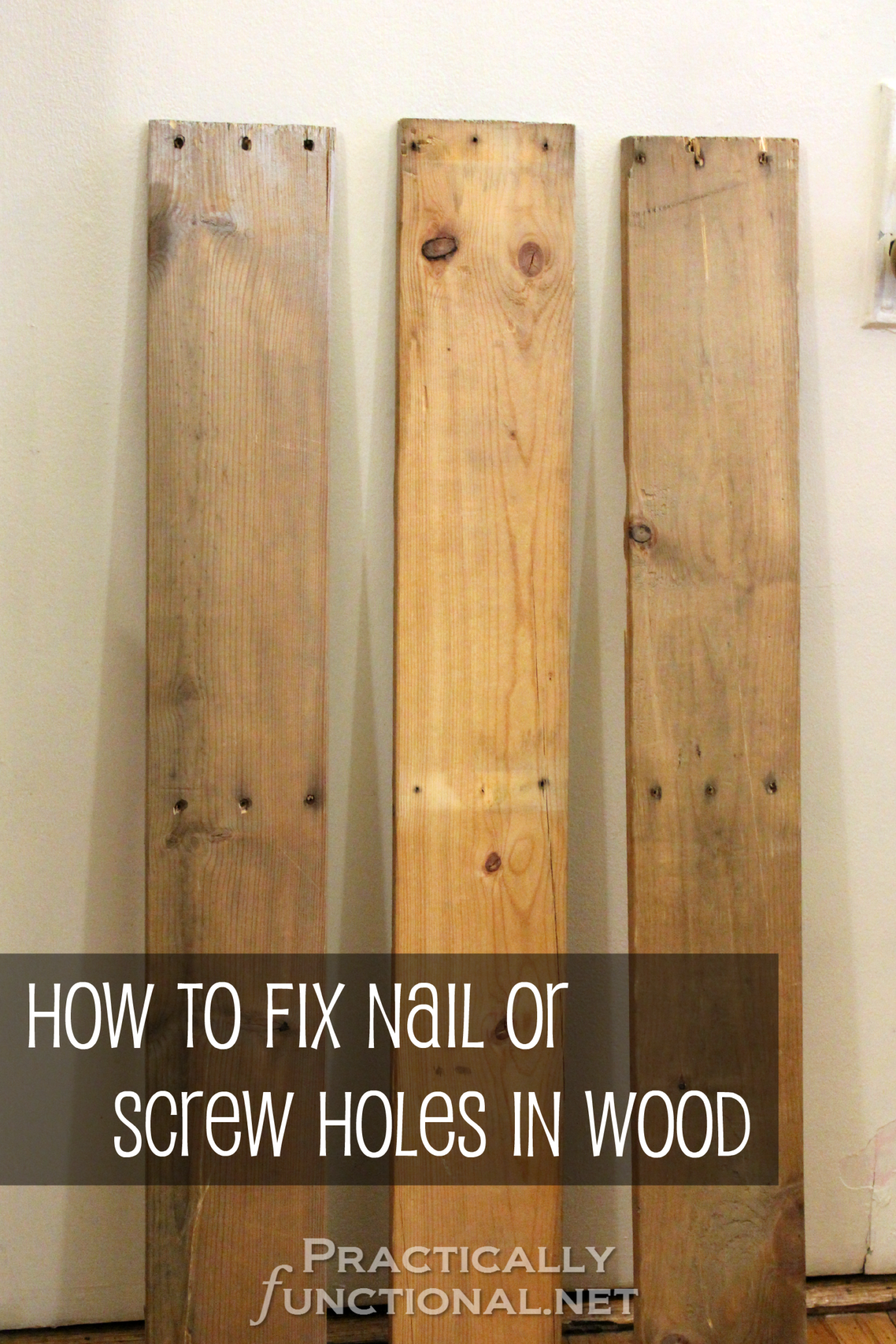 How To Patch Nail Holes In Wood Paneling Iconhelper