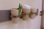 Organize Your Bathroom: DIY Wall-Mounted Storage