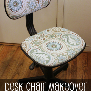 DIY Desk Chair Makeover