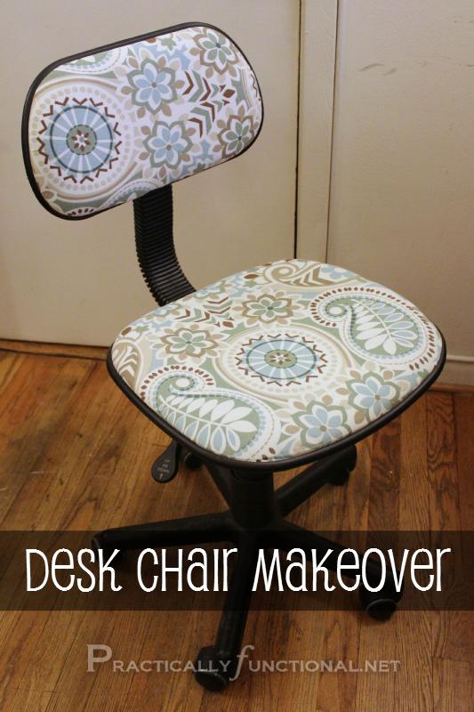 DIY Desk Chair Makeover