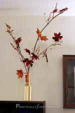Easy DIY Fall Leaves Decor
