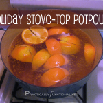 Simple recipe for delicious smelling holiday stove-top potpourri