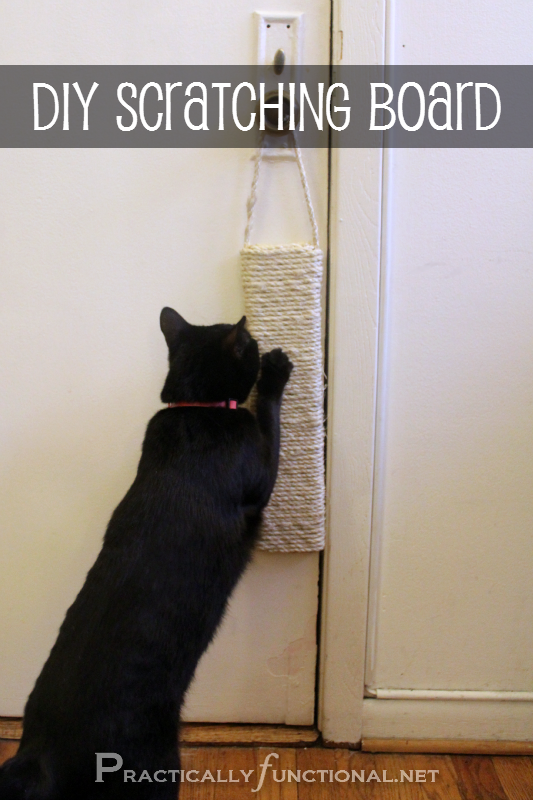 Diy Sisal Scratching Post Caturday 6 Practically