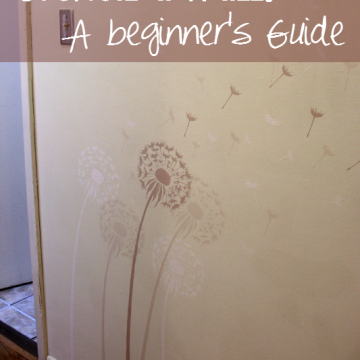 How To Stencil A Wall: A Beginner's Guide