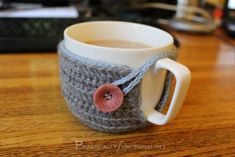 Crochet Mug Cozy - Practically Functional