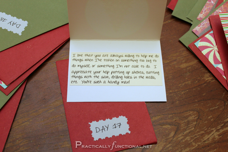 Advent Calendar Ideas Boyfriend : Diy christmas gift paper envelope advent calendar