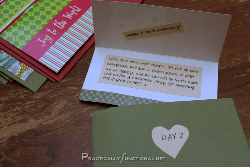 Diy Calendar For Him : Diy christmas gift paper envelope advent calendar