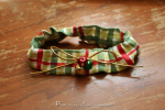 DIY Christmas Cat Collars