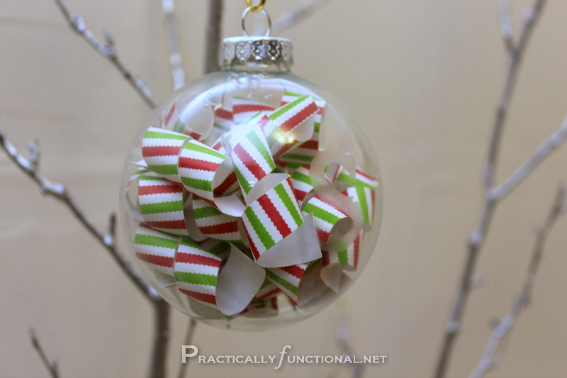 Paper Curl Ornament - Practically Functional