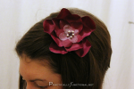 Simple Flower Hair Clips