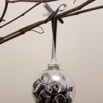 DIY Wedding Invitation Ornaments