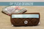 DIY Purse Organizer From A Hot Pad!