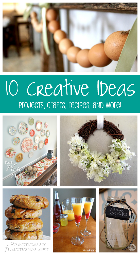 10 Creative Ideas! | Projects, Crafts, Recipes, and More ...