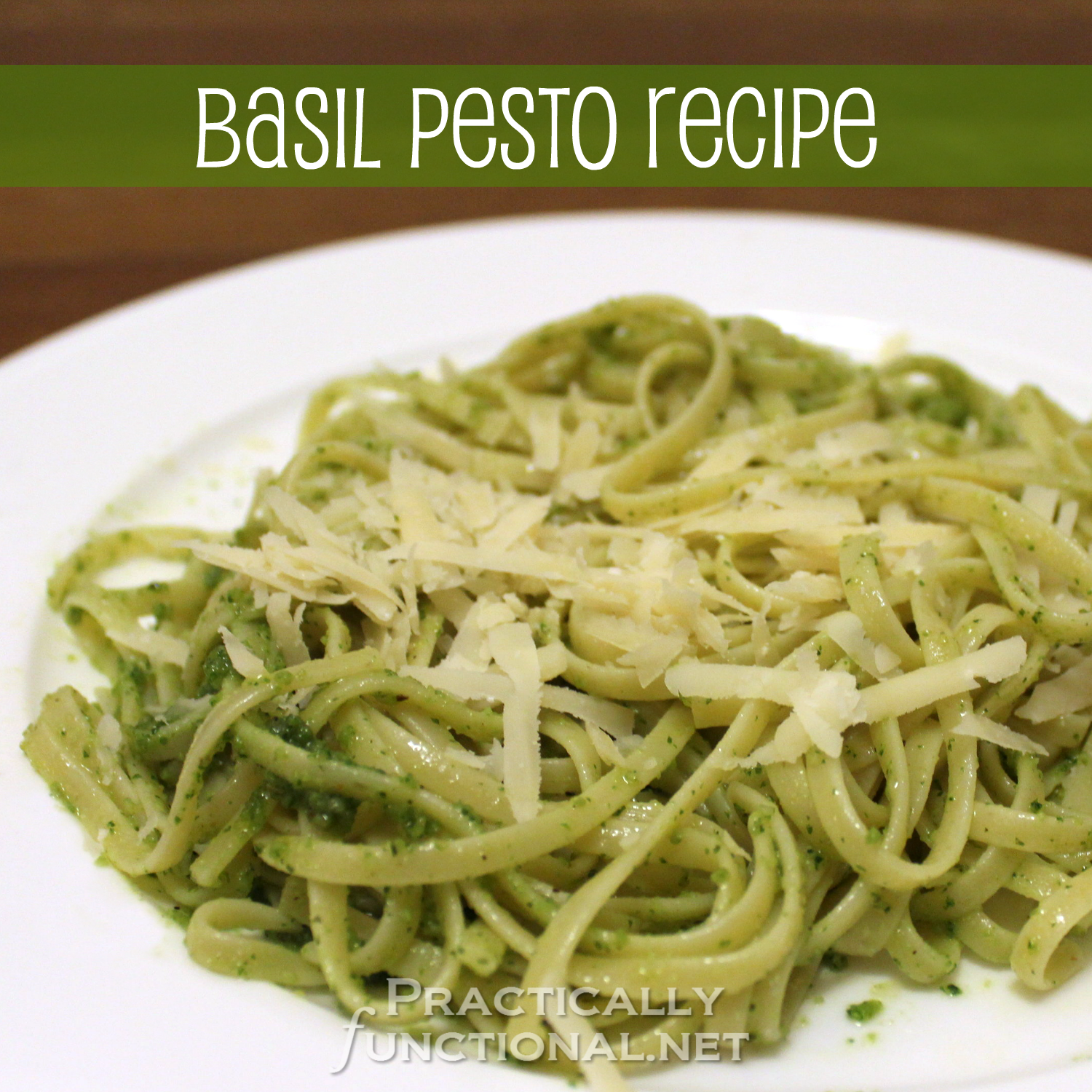 10 Minute Basil Pesto Recipe!