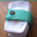 Practically Functional: Padded Diaper Strap Tutorial