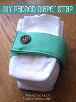 Padded Diaper Strap Tutorial