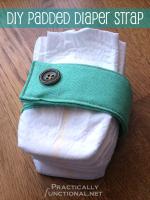 Padded Diaper Strap Tutorial