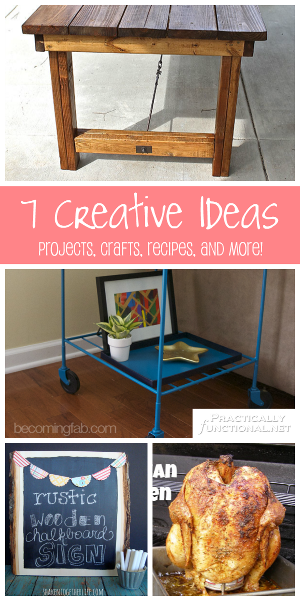 7 creative ideas projects crafts recipes and more