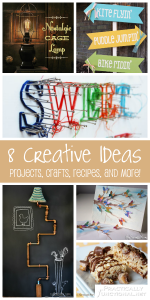 8 Creative Ideas! | Projects, Crafts, Recipes, and More!