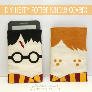 DIY Harry Potter Kindle Covers