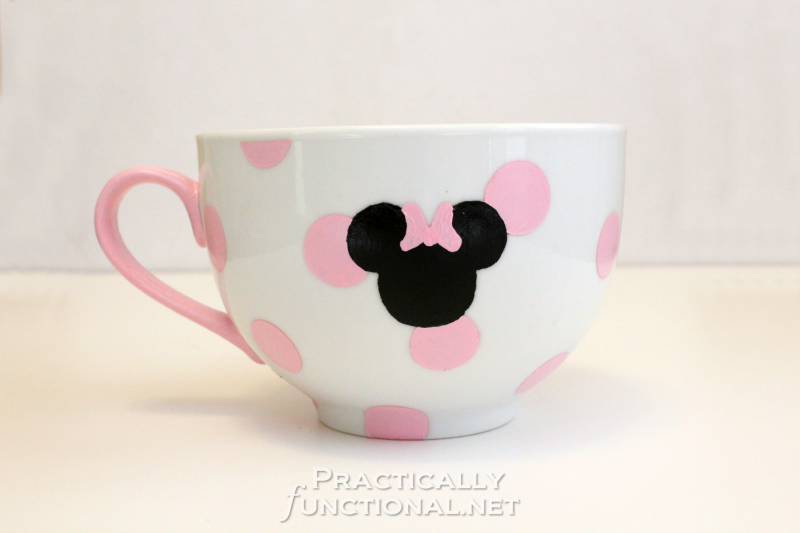 DIY Minnie Mouse Mug