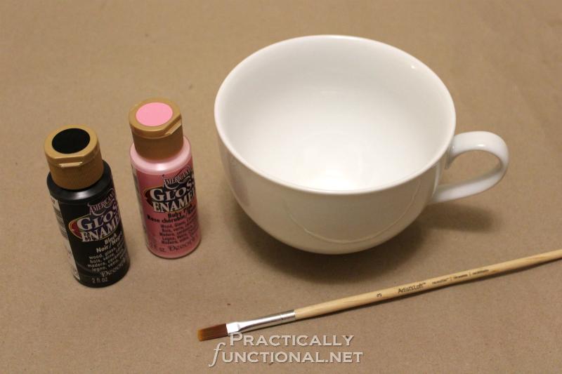 DIY Minnie Mouse Mug