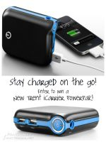 Charge Your Phone On The Go With The New Trent iCarrier!