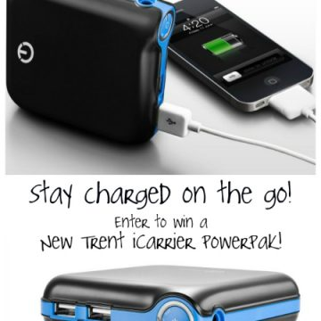 Win a New Trent iCarrier Rechargeable External Battery from PracticallyFunctional.net