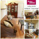 Living Room Refresh For Under $250!