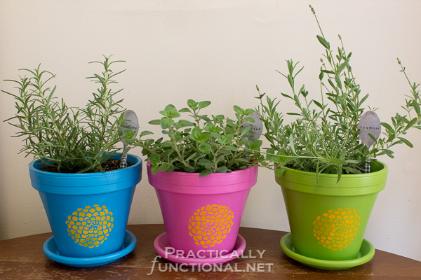 How To Seal Painted Flower Pots