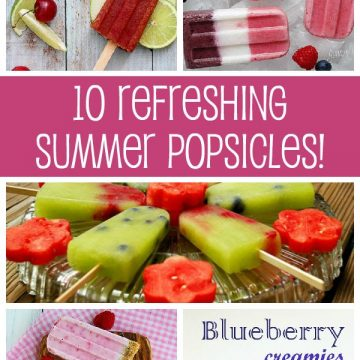10 Cool Refreshing Summer Popsicle Recipes
