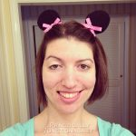 DIY Minnie Mouse Ear Hair Clips