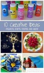 10 Creative Ideas! | Projects, Crafts, Recipes, and More!