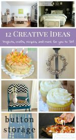 12 Creative Ideas!   Projects, Crafts, Recipes, and More!