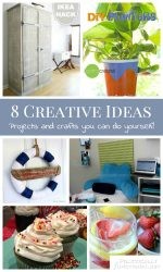 8 Creative Ideas! | Projects And Crafts You Can DIY!