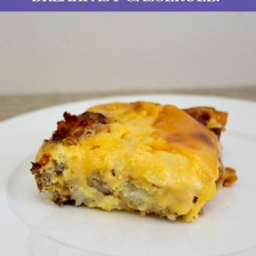 Velveeta Recipe: Meat Lover's Cheesy Potato Breakfast Casserole!