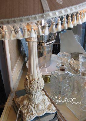 Lamp Re-vamp from Refresh & Renew