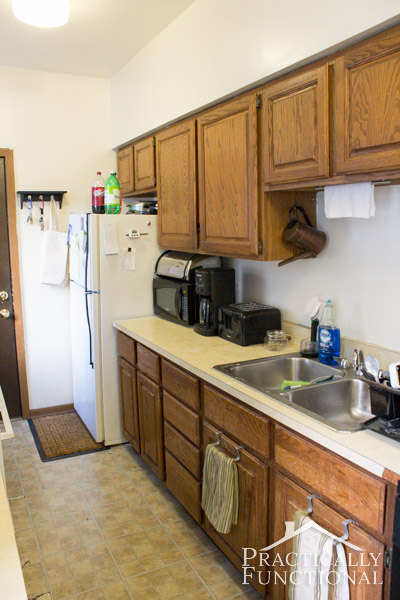 Small Apartment Kitchen kitchen tour: making the most of a small kitchen!