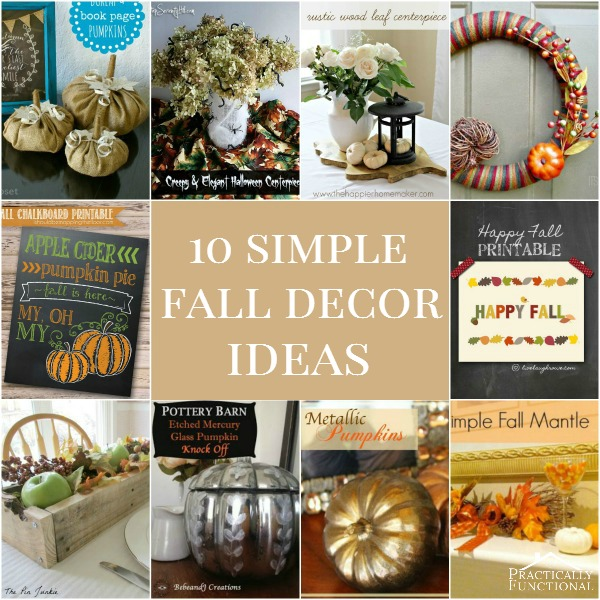 10 Simple Fall Decorations