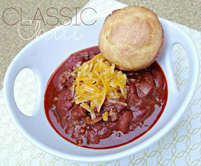 Classic Chili Recipe from It's Always Ruetten
