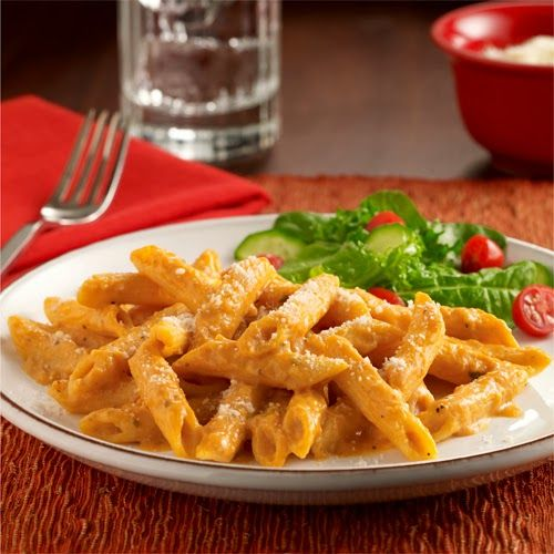 Creamy Pumpkin Pasta from Salt and Pepper Moms