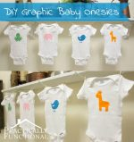 DIY Fuzzy Baby Animal Onesies