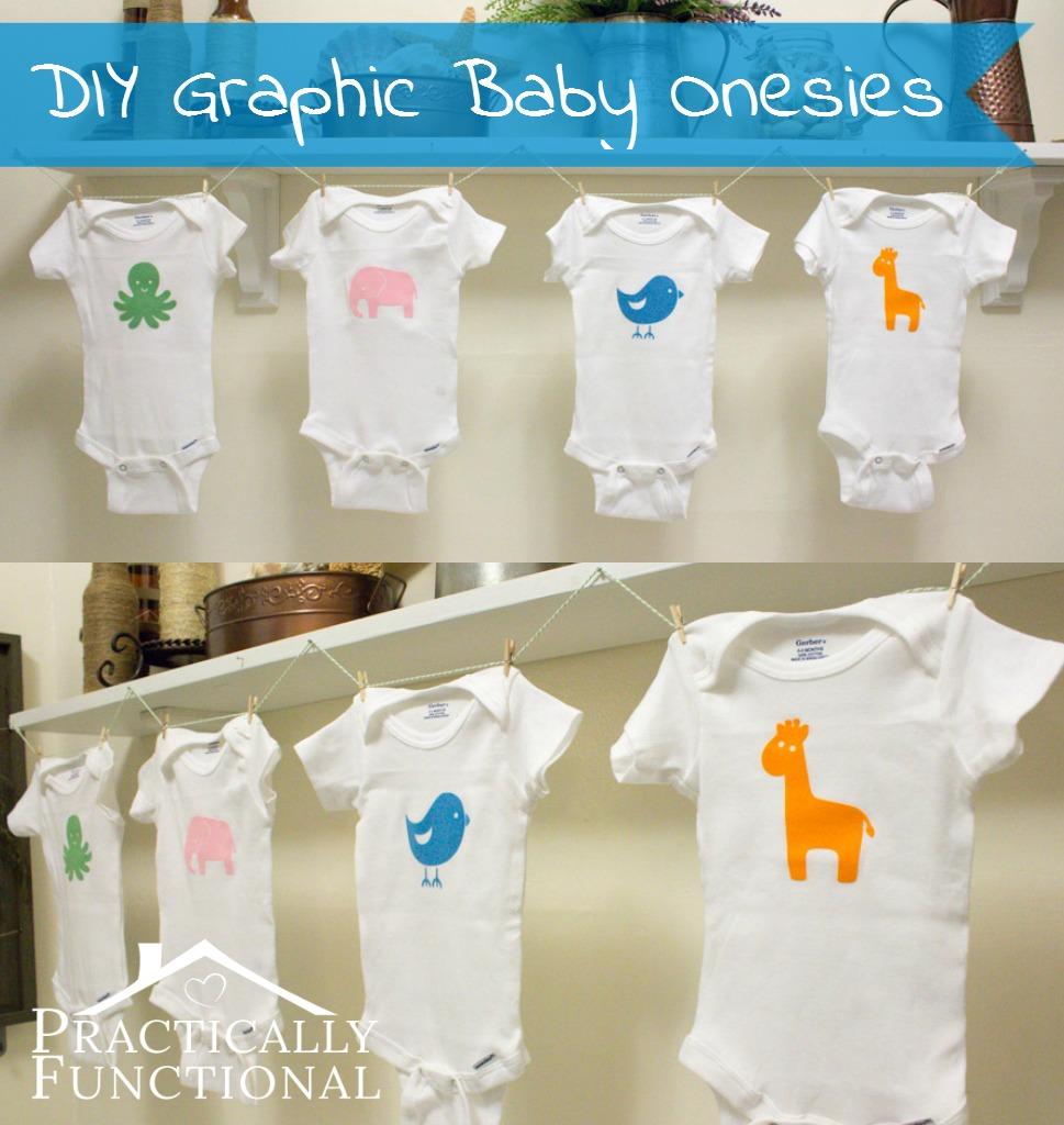 DIY Fuzzy Baby Animal Onesies
