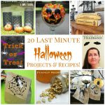 20 Last Minute Halloween Projects & Recipes!